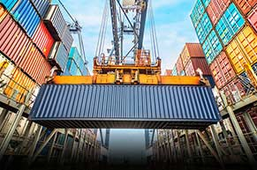 40-ft-container-shipping to India