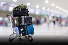 Excess Baggage Shipping to India